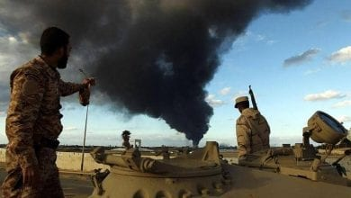 صورة الجيش الليبي يوقف الأعمال القتالية في المنطقة الغربية من البلاد