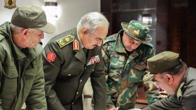 صورة قائد الجيش الليبي يتوعد المستعمر التركي والمرتزقة