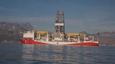 صورة بيان خماسي يندد بتحركات النظام التركي في شرق البحر المتوسط
