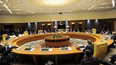 """صورة مؤتمر """"دول الجوار الليبي"""" يؤكد على رفض أي تدخل خارجي في الأزمة الليبية"""