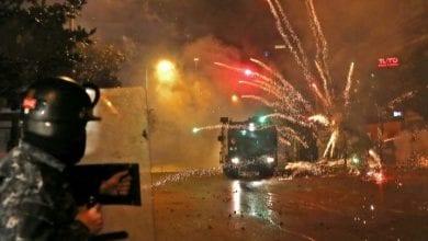 Photo de Le début de la semaine de colère au Liban