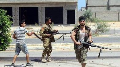 صورة فيديو يظهر عشرات المرتزقة تنقلهم تركيا للقتال في ليبيا