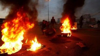 صورة هدوء في مدينة النجف العراقية بعد مقتل وجرح عدد من المتظاهرين برصاص الميليشيات