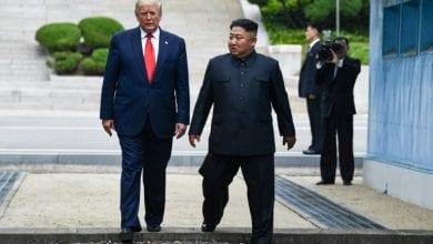 """صورة كيم جونغ يتوعد واشنطن بفعل """"مروّع"""""""