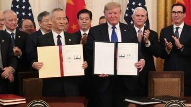 صورة بكين وواشنطن توقعان اتفاقاً تجارياً