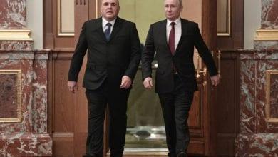 صورة بوتين يعلن تشكيل الحكومة الروسية الجديدة
