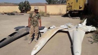 صورة الدفاعات الجوية الليبية تسقط 6 طائرات مسيرة تركية