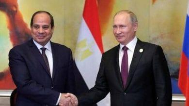 Photo of Discussions sur la crise libyenne entre Al Sissi et Poutine
