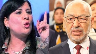 Photo de Abir Moussi porte plainte officielle contre Rached Ghannouchi