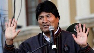 Photo de L'ancien président bolivien a annoncé qu'il formerait une organisation armée