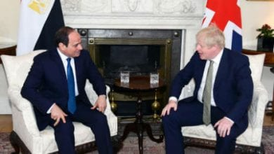 Photo of Egypt's Sisi, UK's Johnson agree to work to reach comprehensive settlement in Libya