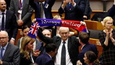Photo of European Parliament gives final approval to Brexit deal, bids farewell with 'Auld Lang Syne'