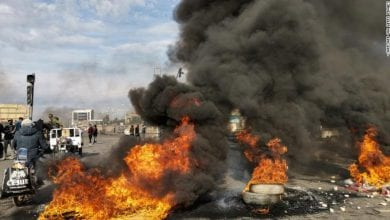 Photo of Hundreds wounded, 12 dead as protesters clash with Iraq security forces