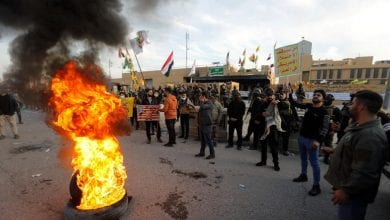 Photo of Iraqi protester shot dead as anti-regime rallies continue