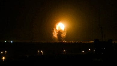 Photo of Israeli aircraft attacked targets in the northern Gaza Strip on Thursday for the second day in a row