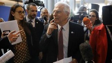 Photo de Josep Borrell: Les choses nous échappent en Libye