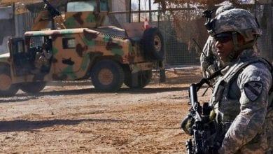 Photo de La base irakienne Al-Taji a été la cible par des roquettes Katioucha