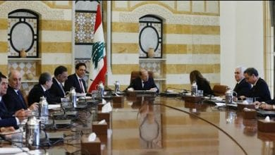 Photo of Lebanon's new cabinet holds first meeting amid protests and economic 'catastrophe'