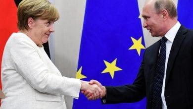 Photo of Libya and Iran top agenda in Merkel-Putin meeting