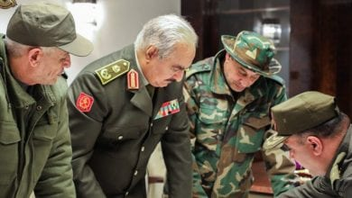Photo of Libyan National Army head Haftar declares JIHAD to 'confront & expel' Turkish troops