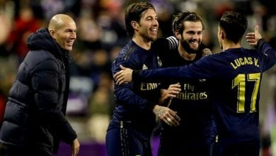 Photo de Le Real Madrid en tête de la Liga après avoir battu Valladolid