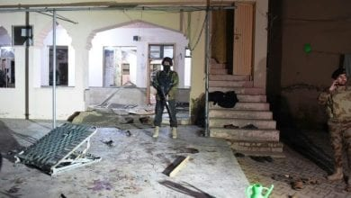 Photo of Pakistan mosque blast kills at least 13, including a senior police officer, and injured 20 others, police said.