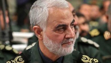 Photo de Qassem Soleimani tué dans une attaque à la roquette sur la route de l'aéroport de Bagdad