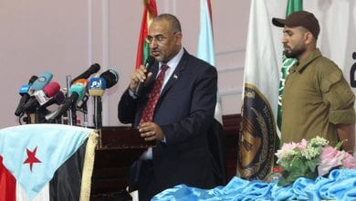Photo of Yemen separatist chief warns against collapse of power-sharing deal