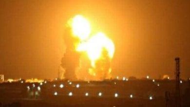 صورة طهران تشن هجوم صاروخي على قاعدة عين الأسد الجوية غرب العراق التي تضم قوات أميركية