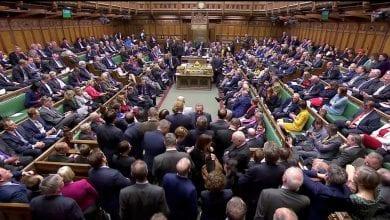صورة البرلمان البريطاني يصادق على اتفاق بريكست