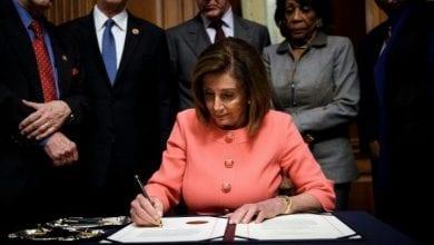 Photo de le Sénat a ouvert le procès en destitution de Trump