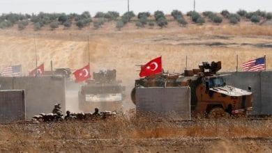 صورة مقتل إثنين من القوات التركية قبل البدء في تنفيذ اتفاق وقف إطلاق النار في إدلب