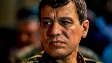 صورة قائد كردي: النظام التركي يدعم داعش بالمال والإرهابيين في شمال سوريا