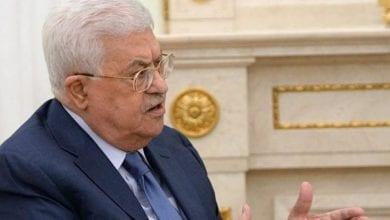 صورة تسريب صوتي: عباس يطلب تدخل رجل أعمال فلسطيني لتصويب العلاقة مع الإمارات