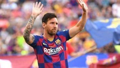 صورة ميسي قد لا يشارك برشلونة أول مباراة في الليغا
