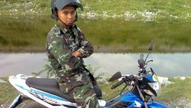 صورة جندي تايلاندي يرتكب مجزرة قرب مركز تجاري شمال شرقي البلاد