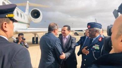 صورة المشير خليفة حفتر يلتقي وزير الخارجية الجزائري في مدينة بنغازي الليبية