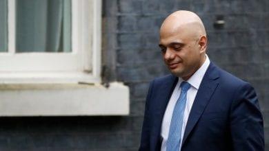 صورة وزير المالية البريطاني يستقيل من حكومة جونسون