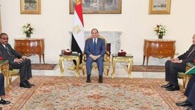 Photo de Al Sissi: confirme l'engagement du succès des négociations sur le barrage de la Renaissance