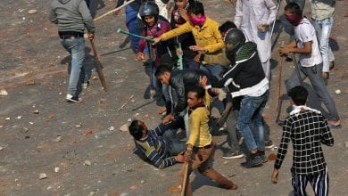Photo of Curfew call in Indian capital after battles between Hindus and Muslims that claimed at least 20 lives
