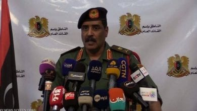 Photo of General Ahmed Al-Mismari reveals the names and nationalities of Erdogan's mercenaries in Libya