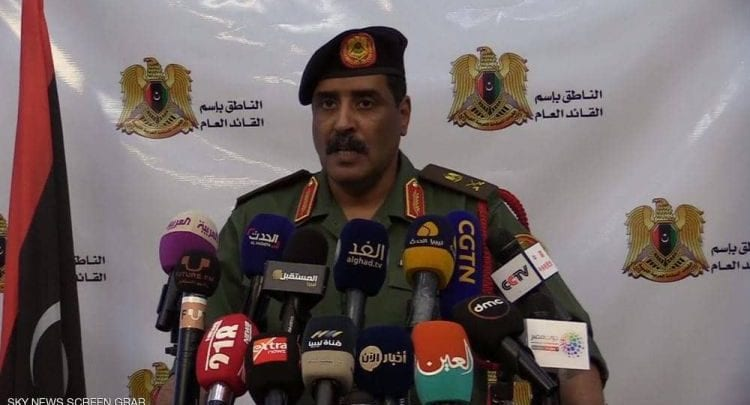 Photo of General Ahmed Al-Mismari reveals the names and nationalities of Erdogan's mercenaries in Libya