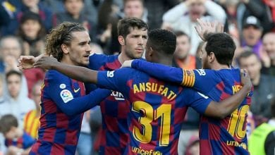 Photo de Le FC Barcelone bat Getafe (2-1) au Camp Nou