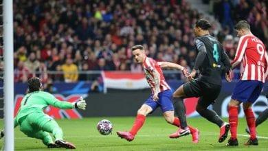 Photo de L'Atlético Madrid s'est imposé sur Liverpool (1-0) en  le champion d'Europe