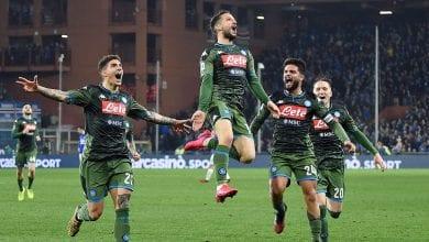 Photo de Le Napoli est parvenu à s'imposer sur le terrain de la Sampdoria (4-2)