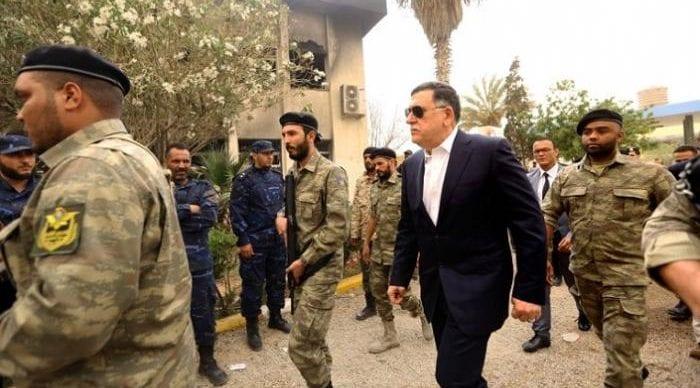 Le gouvernement al-Sarraj