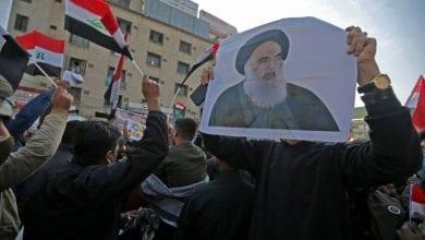 Photo de Le grand ayatollah Sistani:  Les forces de l'ordre doivent protéger les contestataires