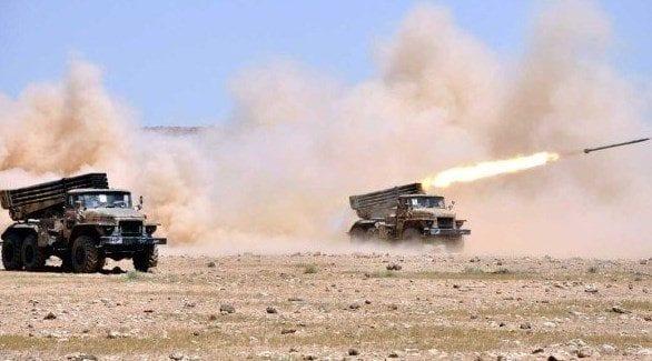 Les forces syriennes