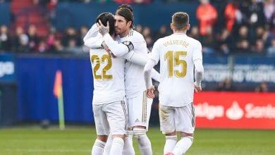 Photo of Le Real Madrid bat Osasuna lors de la 23e journée de Liga