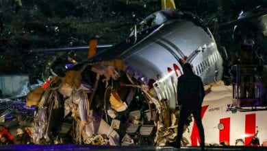 Photo of One dead, 157 hurt after plane overruns runway, breaks into pieces in Istanbul